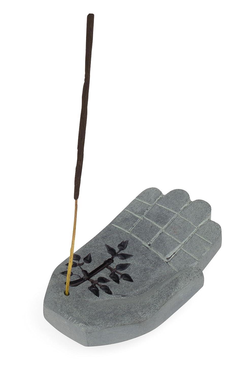 ピンチ条件付きボクシング香炉に' Peace Hand Incense Holder '