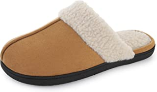 RockDove Men's Highland Scuff Slipper with Memory Foam