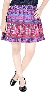 Sttoffa Magic Skirt 15 Inch Length Elastic Band Rajasthani Skirt D7