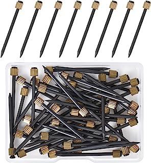 Changrongsheng 50 Pcs Clous de Photo à Suspendre Clous de Suspension en Laiton 35mm Goupilles de Tête Pins Picture Photo H...