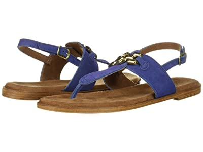 Bella-Vita Lin-Italy (Blue Italian Suede Leather) Women