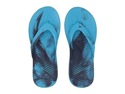 Quiksilver Salvage Flip-Flops (Blue/Blue/Grey) Men
