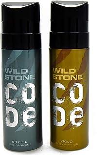 Wild Stone Code Gold & Steel Combo