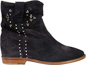 ISABEL MARANT ÉTOILE Luxury Fashion Womens BO010319A018S02FK Black Ankle Boots | Fall Winter 19