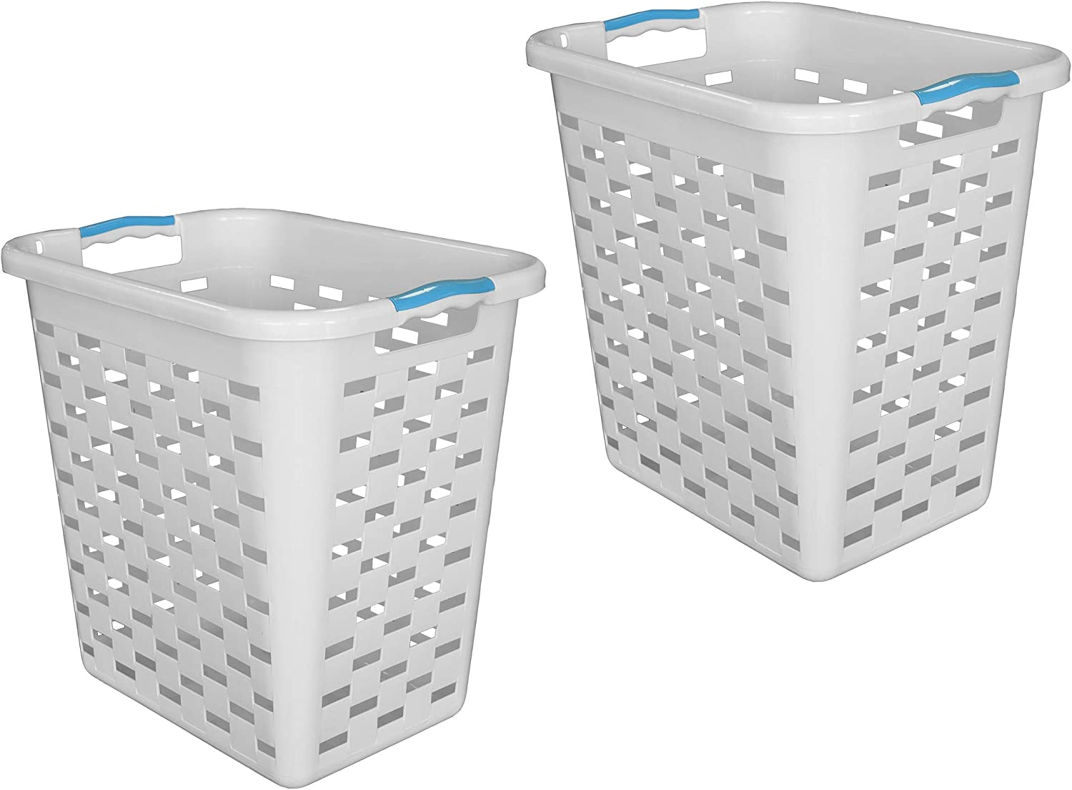 High quality Clorox Plastic Laundry Portland Mall Baskets Antimicrobial Protection 2 with