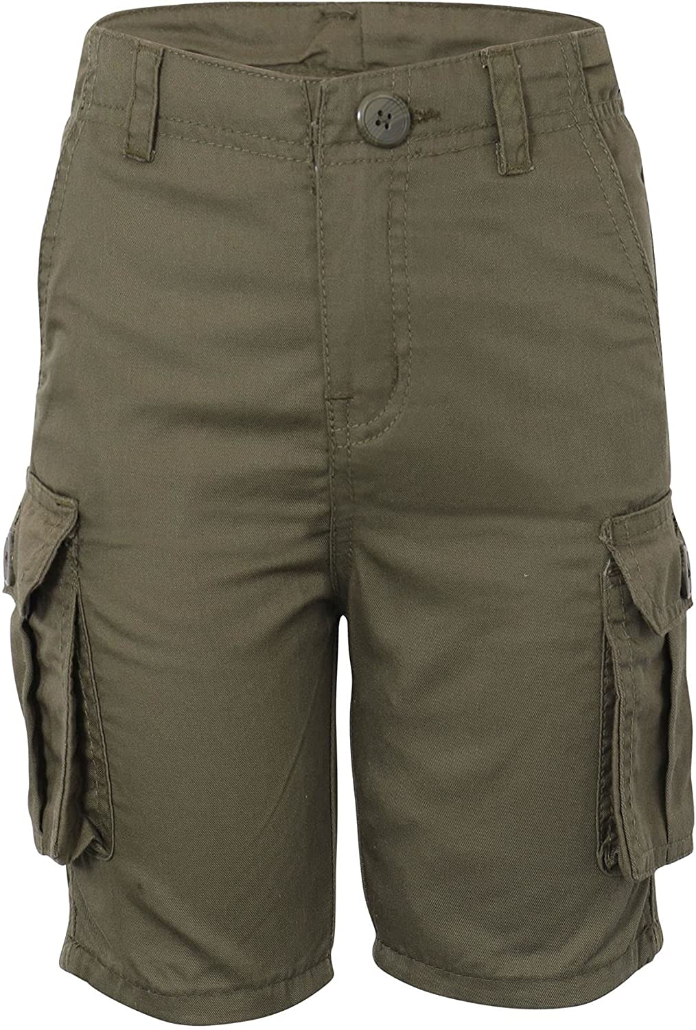 A2Z 4 Kids Cargo Shorts Max 71% Award OFF Casual Trendy Pocket Multi Olive Combat