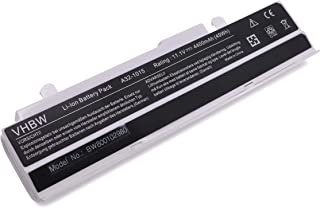 vhbw Li-Ion batería 4400mAh (10.8V) Blanco para Notebook ASUS EEE PC 1215B, 1215N y A32-1015, A31-1015, AL31-1015, PL32-1015.