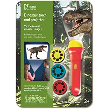 Natural History Museum N5130 Dinosaur Torch & Projector