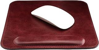 Londoリストレスト付き本革マウスパッド