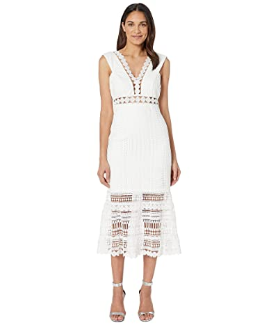 Bardot Petra Lace Dress (Ivory) Women