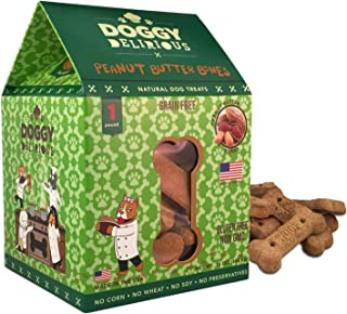 Wet Noses Doggy Delirious All Natural Dog Treats, Made in USA, 100% USDA Certified Organic, Non-GMO Project Verified, 14 Oz Box