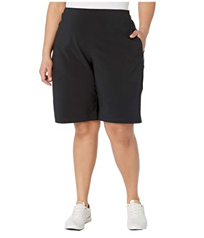 Columbia Plus Size Place to Placetm II Shorts (Black) Women
