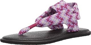 Sanuk Kids' Girls Lil Yoga Sling 2 Prints Sandal