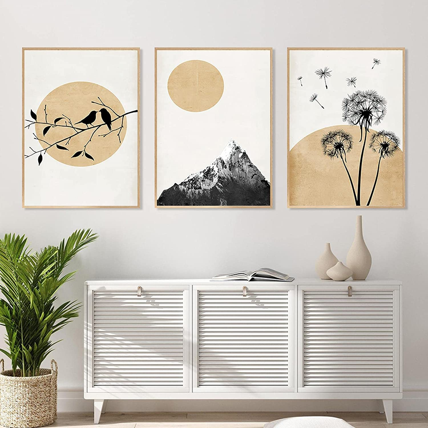 Wall Art Canvas Painting Beautiful 25% OFF Golden Mount Shipping included Poster Landscape