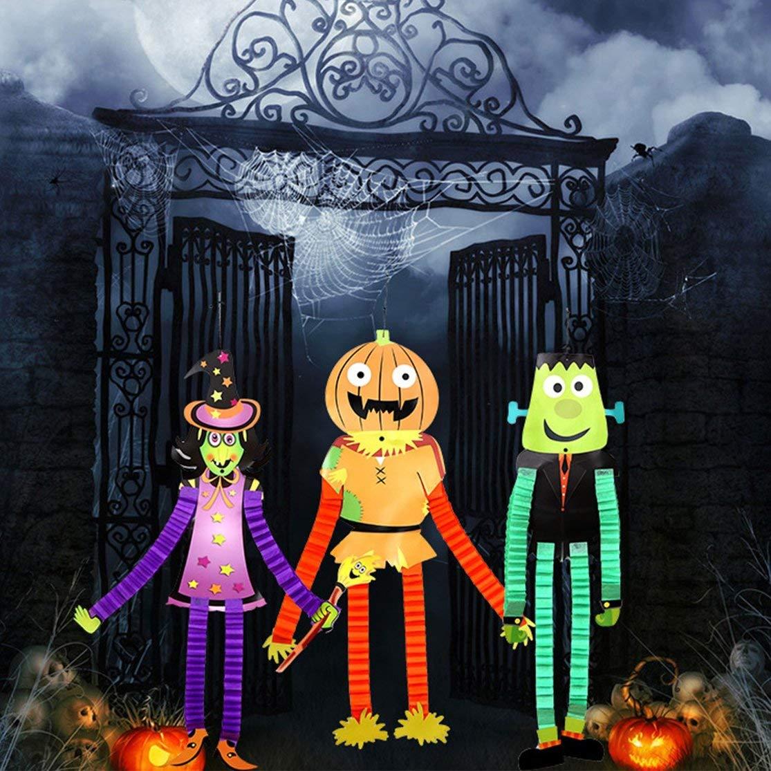 LouiseEvel215 Papel Colgante de Halloween Papel elástico ...