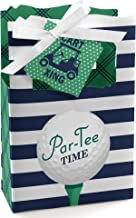 Par-Tee Time - Golf - Birthday or Retirement Party Favor Boxes - Set of 12