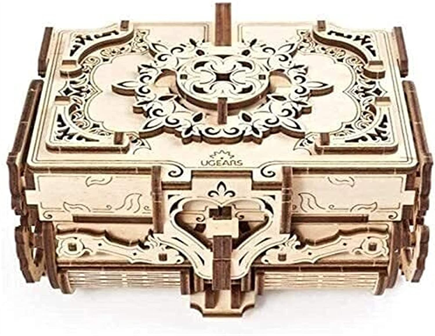 GDYJP 3D specialty shop Wooden Puzzle Max 68% OFF Antique Box M