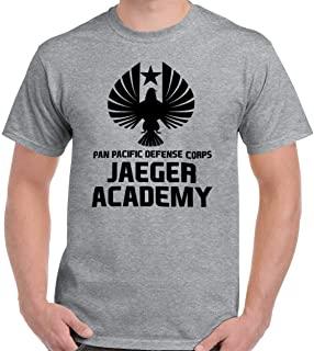 Jaeger Academy Kaiju Uprising Defense Corps T Shirt Tee