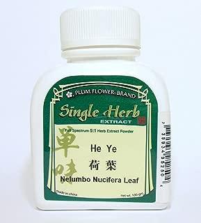 Lotus Leaf Herb Extract Powder / He Ye / Nelumbo Nucifera, 100g or 3.5oz