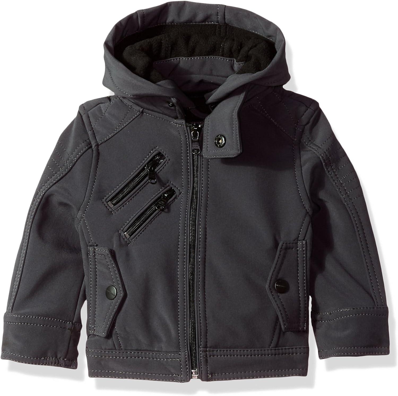 URBAN REPUBLIC Baby Boys Soft Shell Moto Jacket