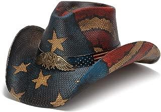 Stampede Hats Men's USA Spirit Vintage Winged USA Hat
