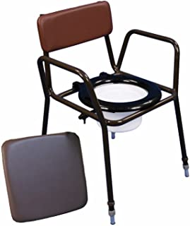 Aidapt Norfolk Adjustable Commode Chair (Eligible for VAT relief in the UK)