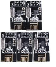Slou New 5 X Nrf24l01+ 2.4ghz Antenna Wireless Transceiver Module