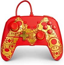 Powera 1516987-01 Controle P/ Nsw Wired Controller Mario Gold M - Nintendo Switch