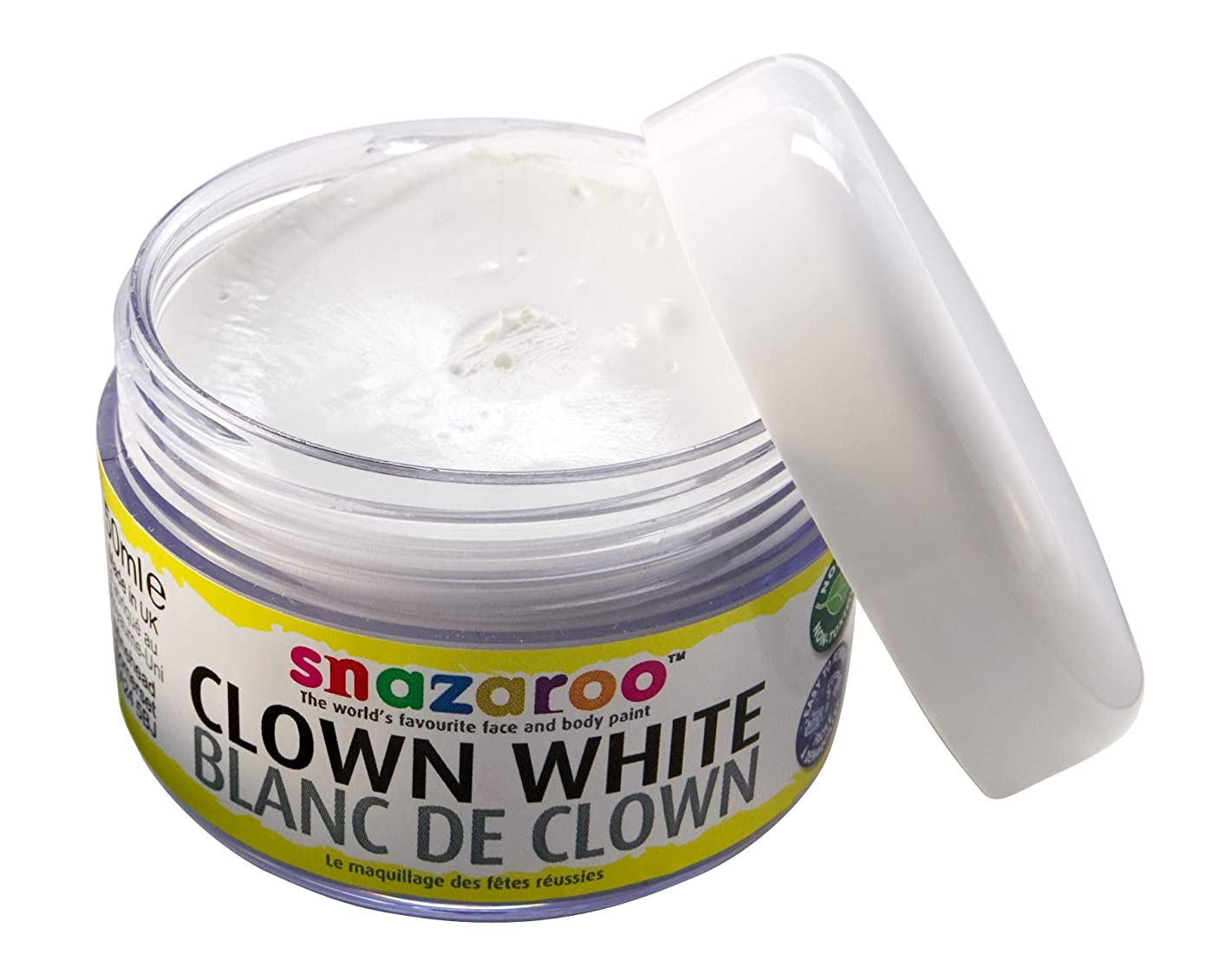Snazaroo Face Paint Clown White, 50ml