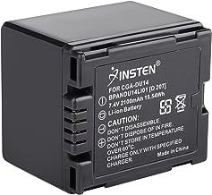 Insten Camcorder 7.4V 2100mAh Li-ion Battery Compatible with PANASONIC CGR-DU12 CGR-DU14 CGR-DU21 CGR-DU06 CGR-DU07 DU14 DU12 DU21 Digital Cam PV-GS31 PV-GS19 GS31 GS35 GS65 GS150 GS250 NV-GS300 GS40