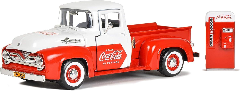 Retro Coca-Cola 1955 F-100 2021 autumn and winter new Machine Vending with 5% OFF Pickup