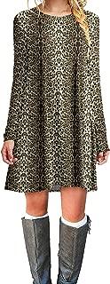 Best leopard print sleeve dress Reviews