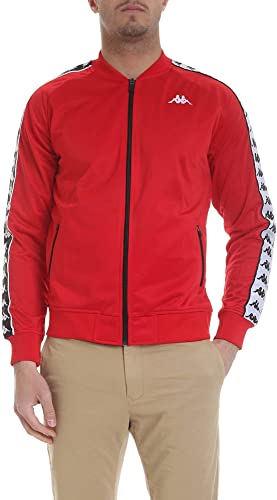 Kappa Homme 303WY10C67 Rouge Polyester Sweatshirt