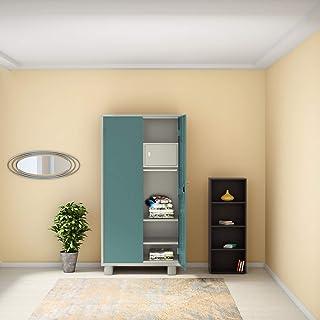 GODREJ INTERIO Storwel Alloy Steel Wardrobe, Spring Blue, 2 door