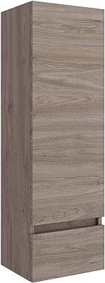Schildmeyer – Armario Alto – Madera, 38 x 35 x 157,5 cm, Madera, esche Grau Dekor, 38x35x157.5 cm: Amazon.es: Hogar