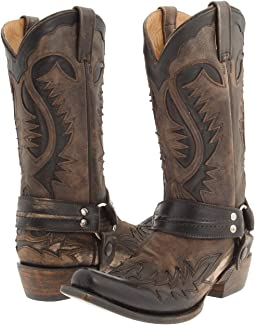 Stetson - Snip Toe Harness W/ Bleach Boot