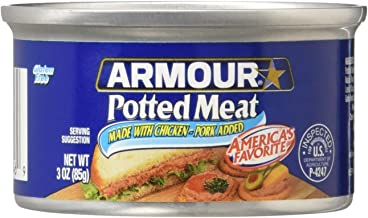 ARMOUR POTTED MEAT made with Chicken and Pork 3 oz (3 oz)