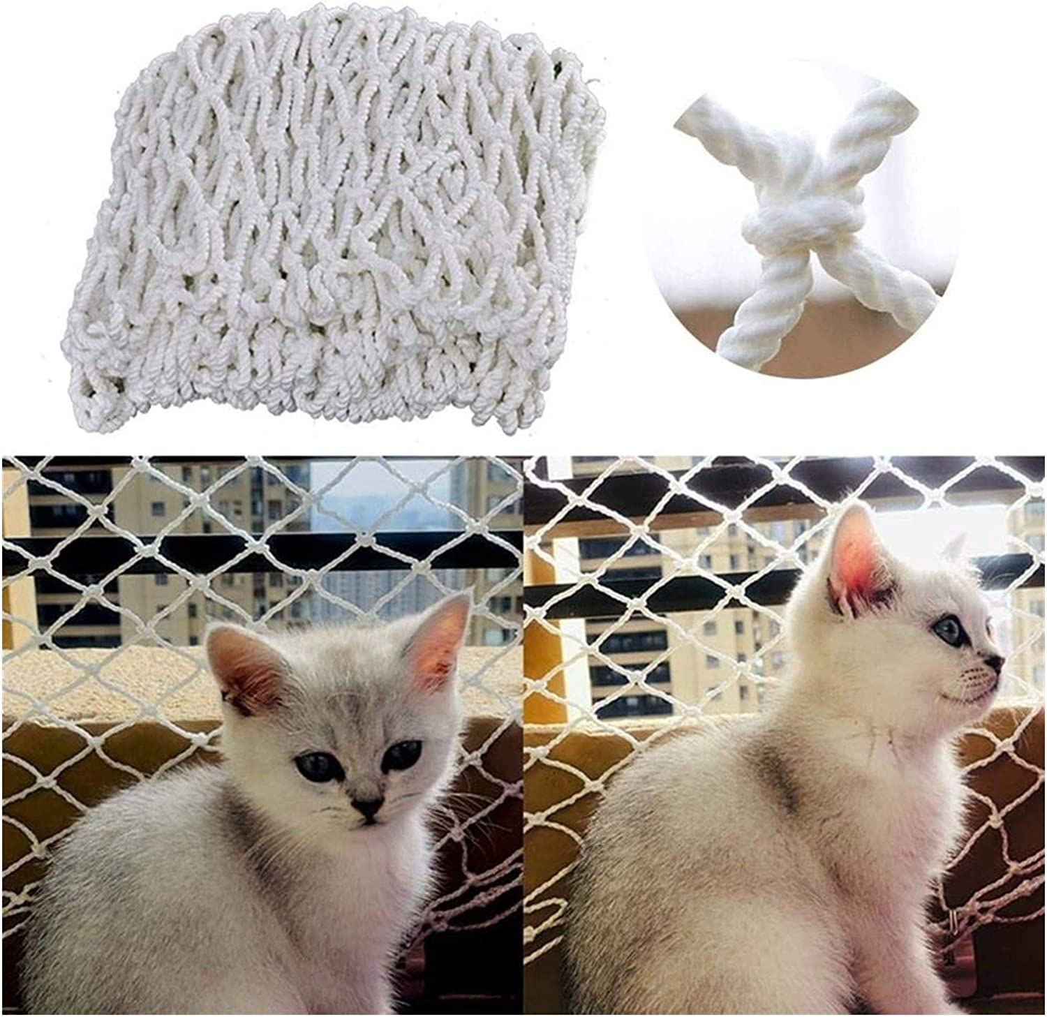 Ljw Safety Netting for Pets Climb Pl Net Protection Washington Mall Detroit Mall Stairs Fall