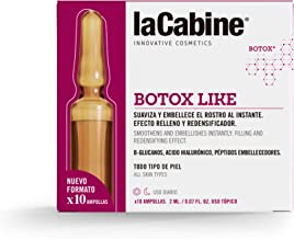 La Cabine Ampollas Botox - Ácido hialurónico cápsulas - Antiarrugas de expresión y edad - Efecto Botox Inmediato - Tensor Instantáneo