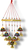 JH Gallery Handcrafted Rajasthani Wind Chime Door/Wall Hanging Decorative Showpiece/Wall Hanging/Home Decor/Home...