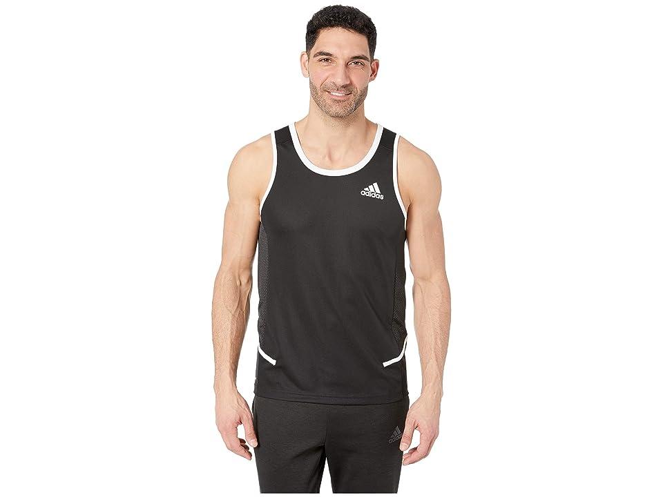 adidas Active Tank (Black/White) Men