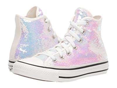 Converse Chuck Taylor All Star Hi Northern Lights (Silver/Vintage White/Black) Women