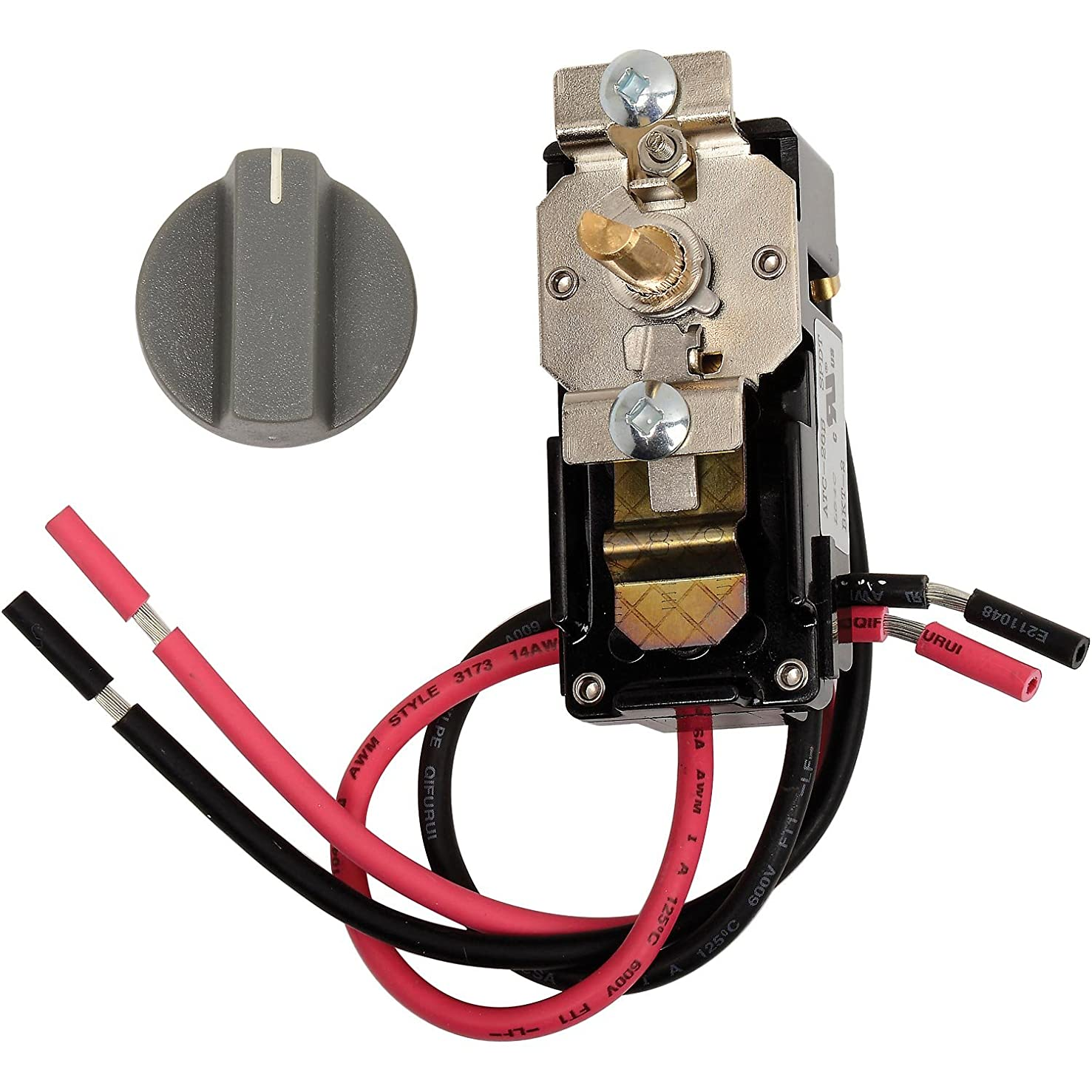 King Electric EFT-1 Single Pole Thermostat Kit for EFW Series