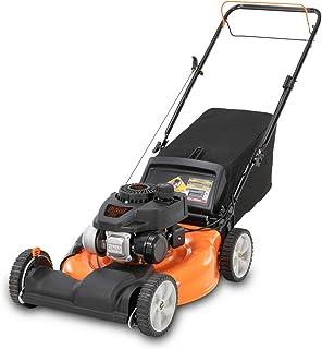 BLACK+DECKER 21 pulgadas 140cc 3 en 1 accionado a gas por rueda delantera Walk detrás de la cortadora de empuje - capacidades de descarga lateral, acolchado y ensacado, negro y naranja