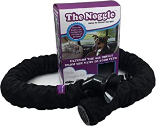 NOGGLE The Pet Extend Hot and Cold Air from Your Dash AC Vent to Pets in The Back Seat - Summer and Winter Vehicle Traveling System to Keep Dogs and Cats Comfortable in The Car - Black Ice