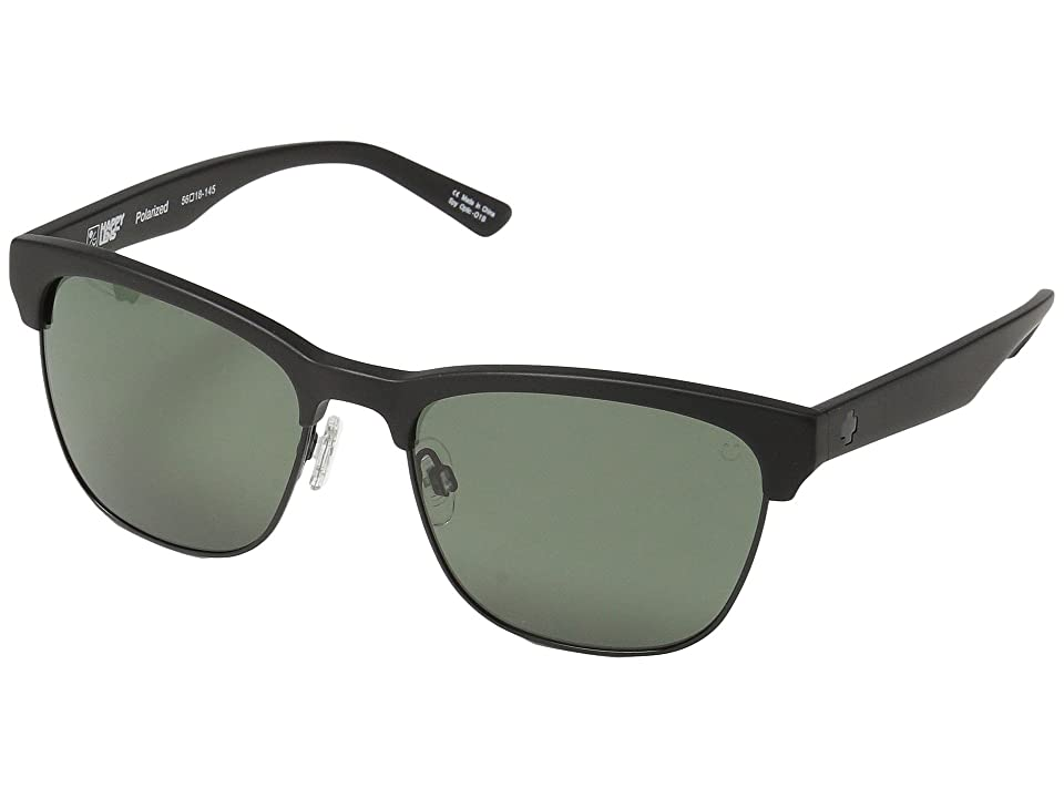 Spy Optic Loma (Matte Black/Black/Happy Gray Green Polar) Sport Sunglasses