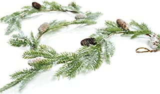 CraftMore Frosted Pine Garland 6'