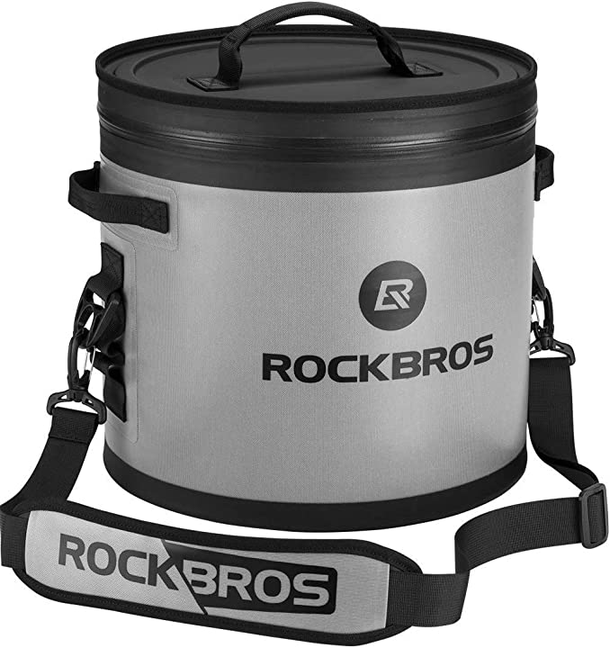 Borsa frigo zaino impermeabile rigida eccellente isolamento grande capacità 17l/20l/22l rockbros BX002-1