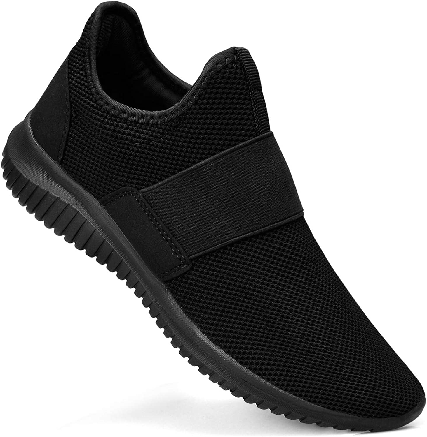 Troadlop Mens Sneakers Slip on Gym Workout shoes