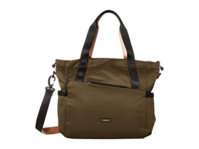 Hedgren Galactic Shoulder Bag/Tote (Earth Green) Tote Handbags